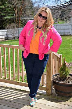 Full Figured & Fashionable: BOX OF CRAYONS Full Figured & Fashionable Full Figured & Fashionable Plus size fashion for women Plus Size Fashion Blogger Full Figured & Fashionable Plus Size OOTD Plus Size Fashion