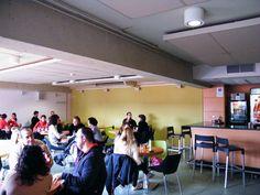 Cafetería.  Foto: Isis Saz ©