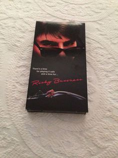 Risky Business VHS 1993 Starring Tom Cruise Rebecca De Monray Rated R NTSC