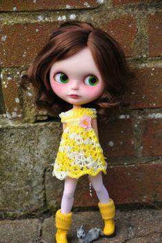 OOAK Custom Blythe Doll Elisa Customized by Zuzana D   eBay