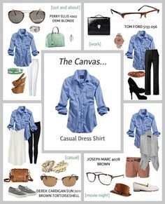 Style Staple The Classic Button Down Shirt is part of Shirt dress casual - 5 ways to style the most versatile item in your capsule wardrobe the classic button down shirt Mode Outfits, Casual Outfits, Fashion Outfits, Chambray Shirt Outfits, Dress Casual, Denim Shirt, Jean Shirt Outfits, Casual Shirt, Women's Jeans