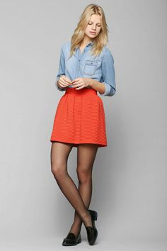 Cooperative Chairy Dreams Full Skirt #urbanoutfitters