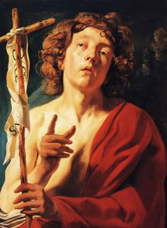 Saint John the Baptist - Jacob Jordaens