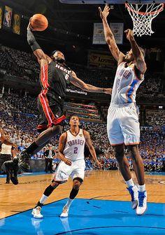 Heat 100, Thunder 96 - NBA Finals: Game 2 - Photos - SI.com
