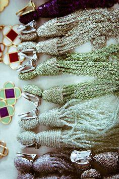 DIY Beaded Tassels for the Christmas tree #diy #beads