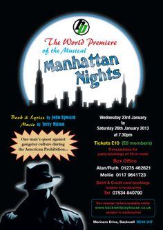 Manhattan Nights Poster - January 2013