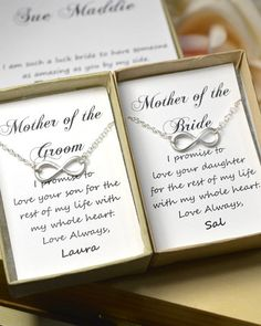 2 SETS : Two Mother of the bride and groom by thefabjewelrywedding