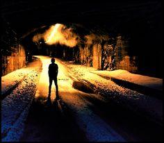 Tunnel Silhouette by Lostchildclothing.deviantart.com