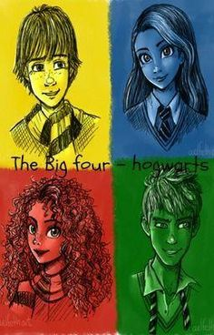 The Big Four - Hogwarts Disney And More, Disney Love, Disney Magic, Disney And Dreamworks, Disney Pixar, Merida, Jake Frost, The Famous Five, Best Crossover