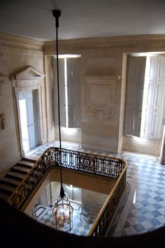 exquisite ethereal French stairway