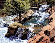 Beautiful southwestern art by Rick Kersten