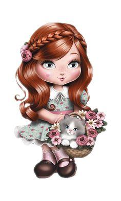 dolls Jolie, jolie Tilibra redhead, redhead jolie, jolie decoupage, jolie Tilibra