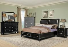 Found it at Wayfair - Klaussner Furniture Danbury Panel Bedroom Collection Cheap Bedroom Furniture Sets, Cheap Bedroom Sets, Master Bedroom Set, King Size Bedroom Sets, Queen Bedroom, Kitchen Furniture, Bedroom Ideas, Bedroom Bed, Bedroom Inspo