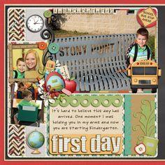 1. School Daze by Kristin Aagard  2. Teacher's Pet by KsQuared {Kristin Aagard & Kristen Rice}  3. Peace Of My Heart: Templates 11D & 12D by Kay Miller Designs