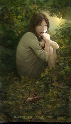 Stunning Digital Illustrations by Wang Song