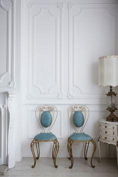 These antique chairs are an amazing addition to any Victorian interior