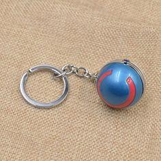 Amazon.com: Pokemon Go 3D Keychains Poke Ball Keyring Round Sphere Charm Key…