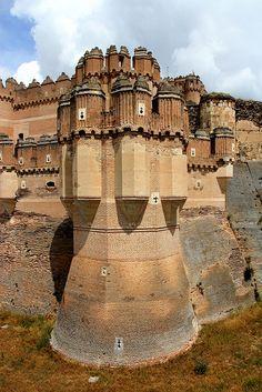 Castillo de Coca Seg?via. Spain
