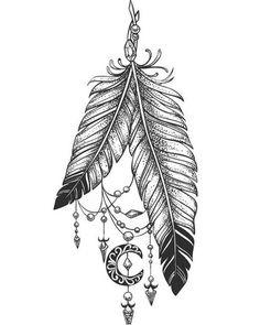 traumf nger tattoo vorlage mit federn und blumen disney pinterest tattoo vorlagen. Black Bedroom Furniture Sets. Home Design Ideas