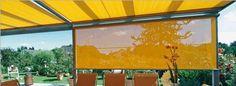 Senkrechtmarkise aus dem Markisenprogramm von Rolloscout