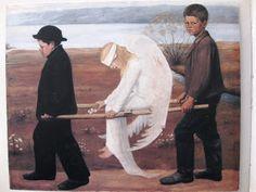 Esoteerinen maantiede ja periferiaterapia: Maalaukseen astuminen - Haavoittunut enkeli Eläintarhassa