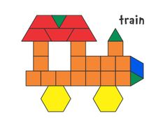 JessicaS Pattern Block Mats Printables Plusieurs Modles