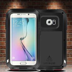 NEW listing: Samsung Galaxy S6 Edge+ Plus  Military Grade Aluminum Metal Case Shockproof #LoveMei