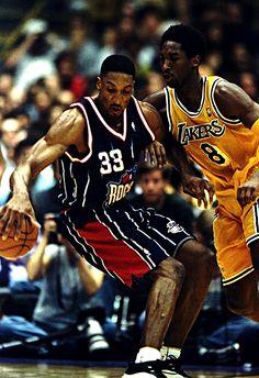 Scottie Pippen & Kobe Bryant