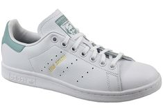 sneakers Adidas Stan Smith J CP8875 White. Upper: natural leather.
