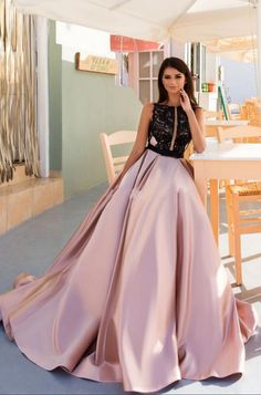653 Best Pink evening gowns images  7e744443a5b1