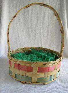 I have this exact Easter basket from my childhood