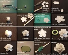 Cakeryblog: Tutorial - Gardenia