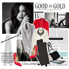 """""""Good As Gold"""" by justsweet on Polyvore"""