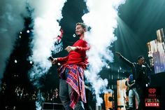 J Balvin onstage at the 2014 iHeartRadio Fiesta Latina at The Forum in Inglewood, California on Saturday, November 22nd, 2014. (Photo: Andrew Swartz for iHeartRadio)