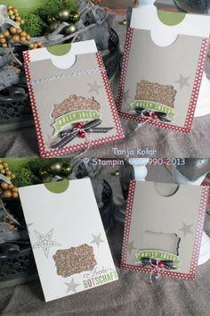 Und wieder Ziehkarten und die aktuellen Stampin Up Angebote