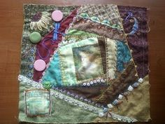 this was the tooth fairy pillow topper before i finished & stuffed the pillow! made by Andrea Nelson