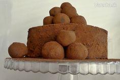 Chocolate Amaretto crépe cake (fotorecept)
