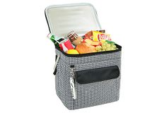 Just ordered this(yay!)/lp - Large Multi Purpose Cooler, Houndstooth on One Kings Lane