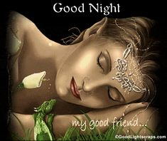 good night Scraps, graphics and Comments