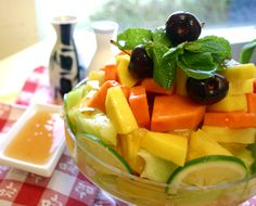 This 3 step Tropical Fruit Mix is delicious and easy to make! Sandwich Recipes, Lunch Recipes, Dinner Recipes, Plum Sauce, Seasoning Mixes, Sauce Recipes, Fruit Salad, Tropical, Favorite Recipes