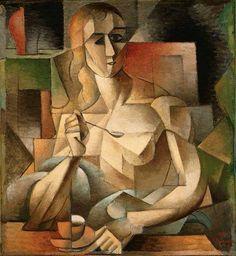 Le Goûter, Tea Time (Woman With A Tea Spoon), Jean Metzinger