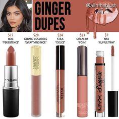 Kylie Cosmetics Ginger ↞ Radaschloe ↠ Dupes