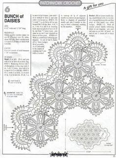 Crochet Knitting Handicraft: Napkins - the Irish and the Bruges lace Crochet Table Runner Pattern, Crochet Doily Diagram, Crochet Motif Patterns, Filet Crochet, Crochet Shawl, Crochet Doilies, Crochet Flowers, Crochet Art, Crochet For Kids