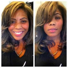 Blonde Highlights and a blow out Photo by salon718