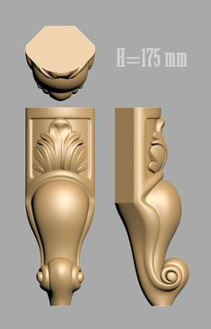 A1039. 3D models for cnc, LEGS Wood Furniture Legs, Cheap Furniture, Furniture Online, 3d Cnc, Classic Furniture, Table Legs, Wood Design, Wood Carving, Decoration