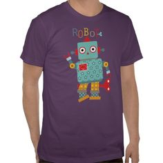 Trendy Robot T-shirts