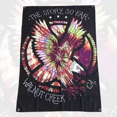 The Story so Far - Tie Dye Eagle Wall Flag for $23.99 from Merch Connection. The Story So Far is an American pop punk band that formed in 2007 in Walnut Creek, California, USA.