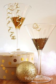 Add some glitz and glamour this New Year's Eve