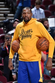 bac867b6187 Kevin Durant of the Golden State Warriors participates during practice and  media availability as part of