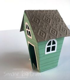 CTC 95: Stampin' Up!'s Home Sweet Home with embossed roof